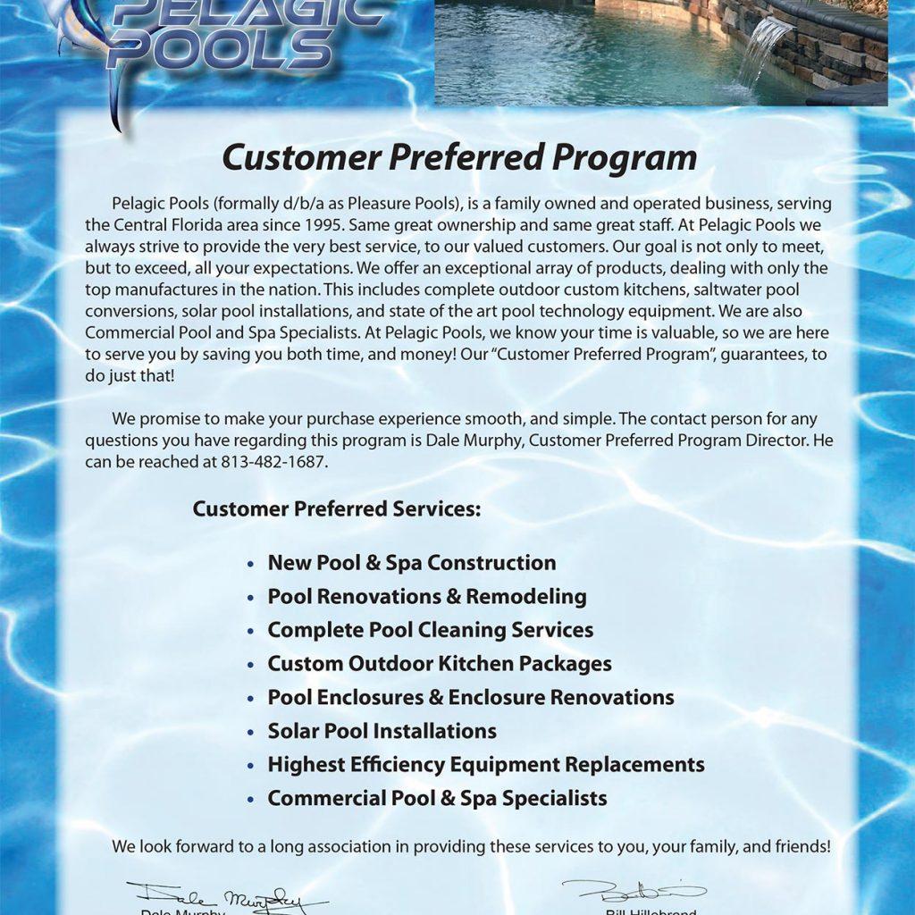 Pelagic Pools Brochure